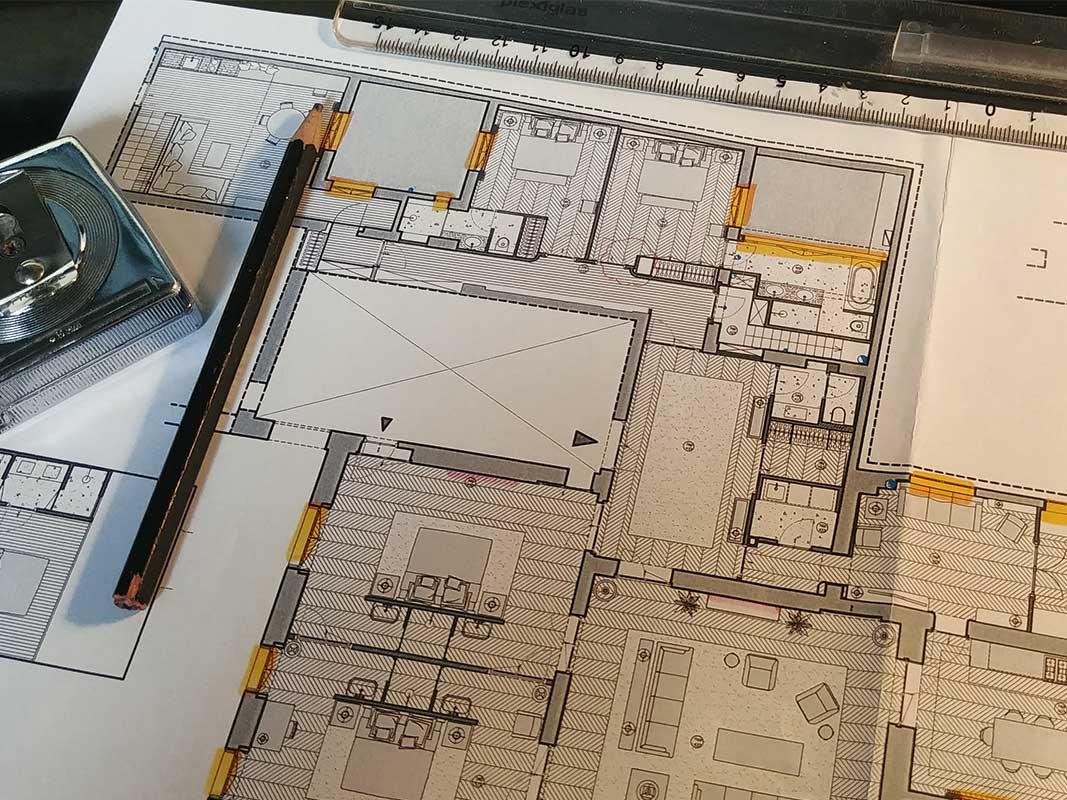 Etude et conception des espaces avant proposition definitive