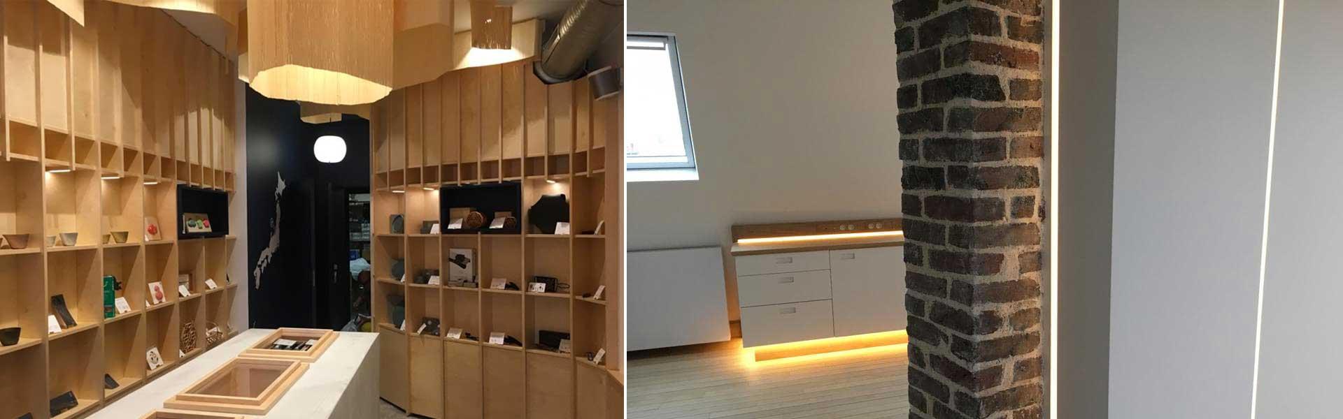 Delux dessine et repense votre lumière pour vos espaces de vente